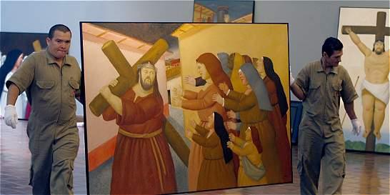 Serie 'Viacrucis, la Pasión de Cristo' de Botero llega a Roma