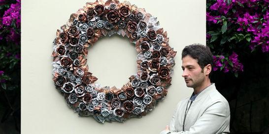 El artista Juan Carlos Delgado presenta su exposición 'Hiperbarroco'