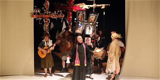 Camilo Torres, en el teatro La Candelaria