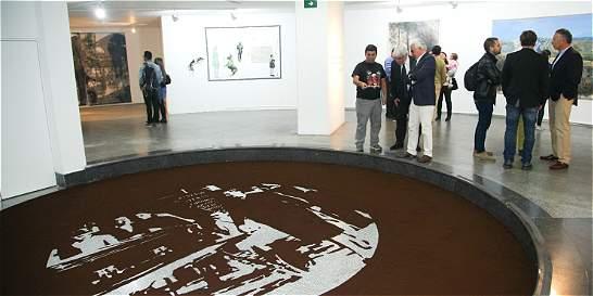 'Lo bello yo sublime', arte chileno en Bogotá