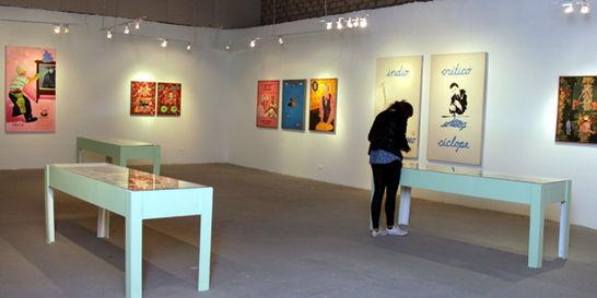Video, instalación y pintura, en el Espacio Odeón