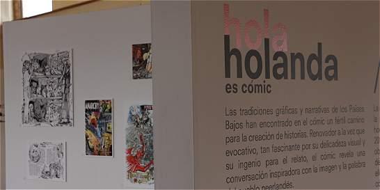 Exposición 'Holanda es cómic' se seguirá viendo en Bogotá
