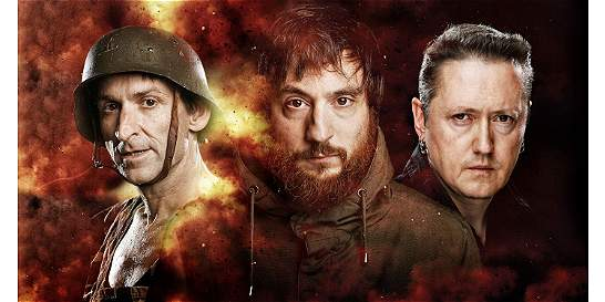 'Guerra': irreverencia de un trío de músicos