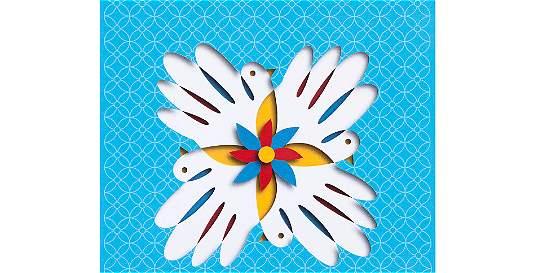 El sello de la paz / Columna sin título