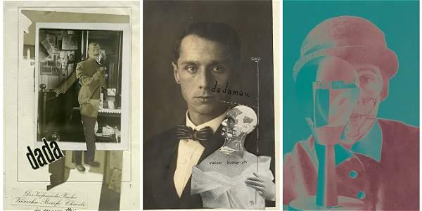 De izquierda a derecha: imagen tomada y realizada por el alemán Johannes Baader; fotografía