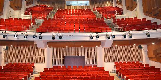 El Teatro Pepe Vives Campo, nueva opción para las artes en Santa Marta