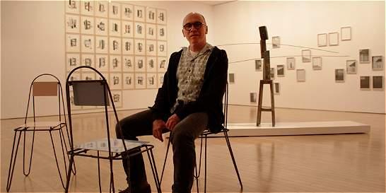 Los ires y venires del artista Luis Roldán en su exposición 'Periplo'