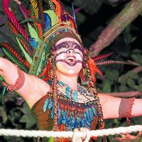 Natalia Bedoya: el alma indígena del musical 'Peter Pan'