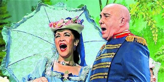 Presentación de la ópera 'Carmen' en Bogotá