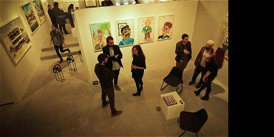 La Feria del Espacio Odeón: arte, 'performance' y obras 'in situ'