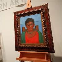 Subastarán pintura de Frida Kahlo que nunca fue expuesta en público