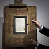 Casa de subastas en París encuentra un dibujo de Leonardo Da Vinci