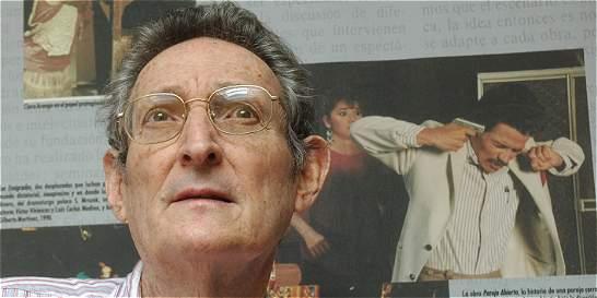 Luto en el teatro colombiano, falleció el dramaturgo Gilberto Martínez