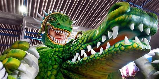 La fiesta del caimán en el Carnaval de Barranquilla