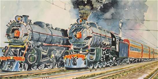 Miguel Ángel Umaña y su viaje en tren hacia el pasado