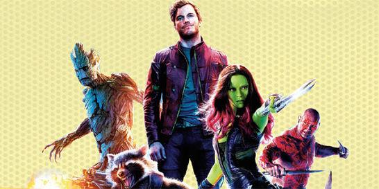 'Guardianes de la galaxia', las aventuras de cinco héroes muy locos