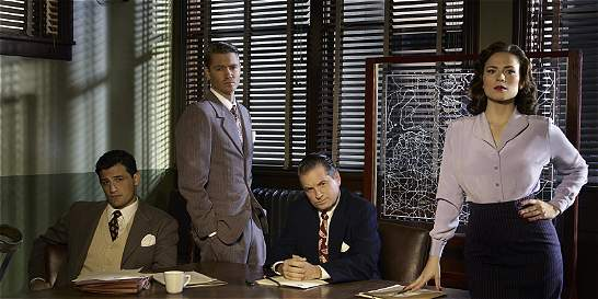 'Agent Carter', una heroína de Marvel que se toma la pantalla chica