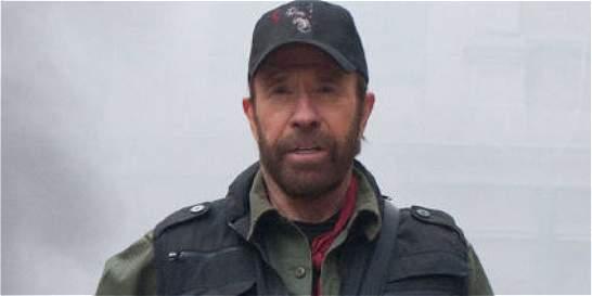 El actor Chuck Norris, el 'inmortal' que cumple 75 años