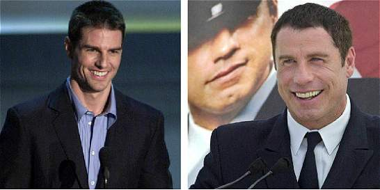 Revista reveló supuesto romance entre Tom Cruise y John Travolta