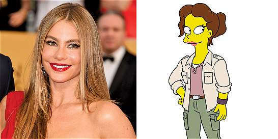 Sofía Vergara será la voz de un personaje de 'Los Simpson'