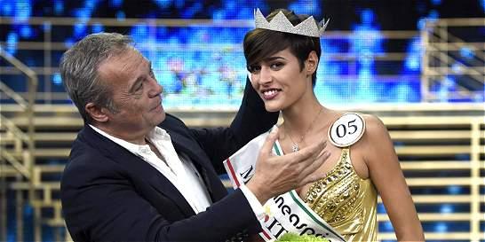 Respuesta de Miss Italia genera burlas en las redes sociales