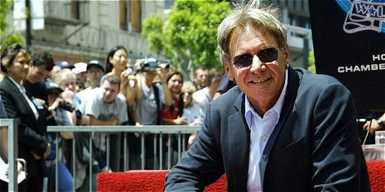 Harrison Ford realiza sorteo para asistir al estreno de 'Star Wars'