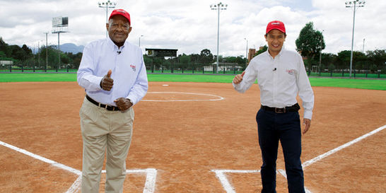Édgar Perea vuelve a la TV con el programa 'Béisbol hit'