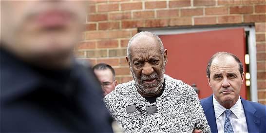 Bill Cosby quedó en libertad bajo fianza de 1 millón de dólares