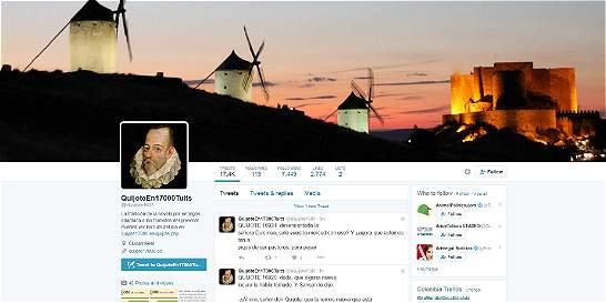 El Quijote, en 17.000 tuits