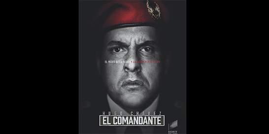 La primera imagen de la serie inspirada en Hugo Chávez