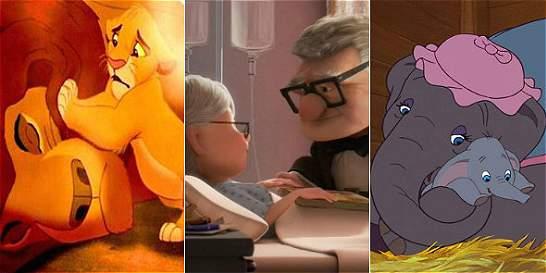 Los momentos más conmovedores de las películas animadas de Disney