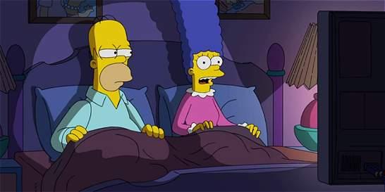 Los Simpson votarán por Hillary Clinton