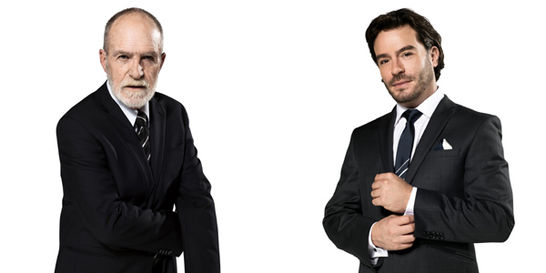 Se estrenó 'Hilo de sangre azul', un 'thriller' de ricos, en TV
