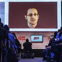 Snowden hablará vía satélite en el preestreno de su