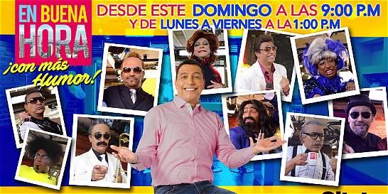 'En Buena Hora con más humor', el nuevo especial de Citytv