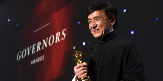 Jackie Chan, el cómico del kung-fu que ganó un Óscar honorífico