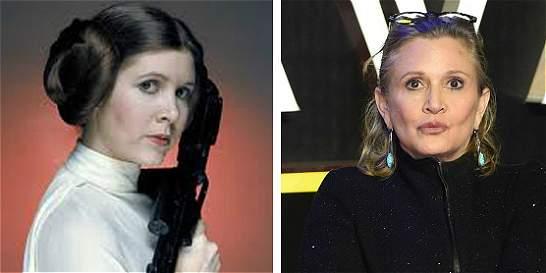 Carrie Fisher, la princesa Leia en