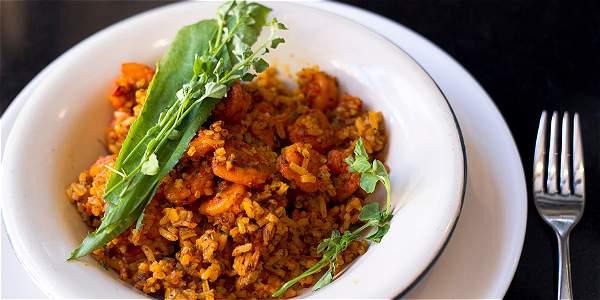 El currulao es el plato recomendado por el chef de El Panóptico, Eduardo Martínez.