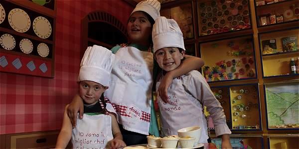 La cocina enseña a los niños habilidades para enfrentar la vida