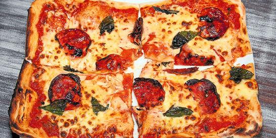 Pizza más que 'versátil' y para todos los gustos