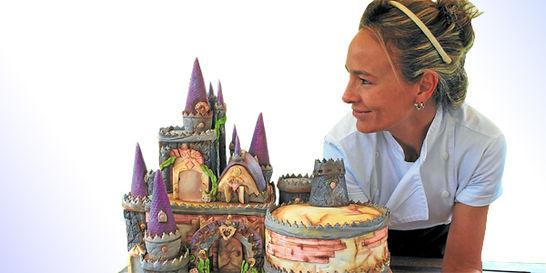 La pastelera que transforma tortas en obras de arte