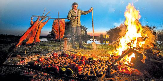 Francis Mallmann, el chef que disfruta cocinar al aire libre