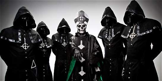 El metal sueco de Ghost dará un concierto en Bogotá