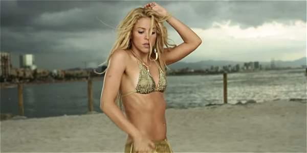 Shakira en el video de