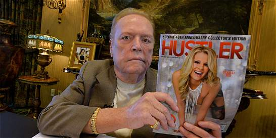 Larry Flint celebra los 40 años de su revista porno 'Hustler'