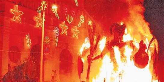 Su majestad el Diablo atiende en Riosucio en su carnaval