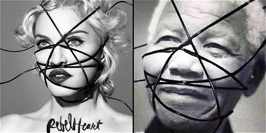 Madonna se defiende de críticas por usar fotos de Mandela y Luther K.