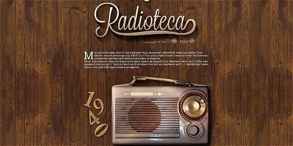 75 años de historia radial en 'Radioteca'