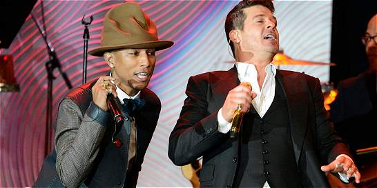 Robin Thicke y Pharrell Williams, culpables de plagio a Marvin Gaye