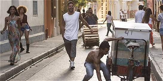 'La Mordidita' de Ricky Martin que paralizó a Cartagena
